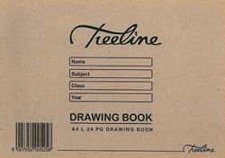 Picture of A4L 24 Page Drawing Books - No Tissue