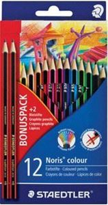 Picture of Staedtler coloured pencils 12 + 2