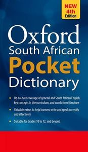 Picture of Oxford South African Pocket Dictionary 4th Edition