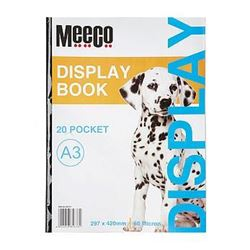 Picture of Meeco A3 Economy Display Book 20 Pockets