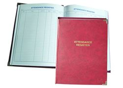 Picture for category Attendance Register