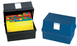 Picture for category Card File Boxes