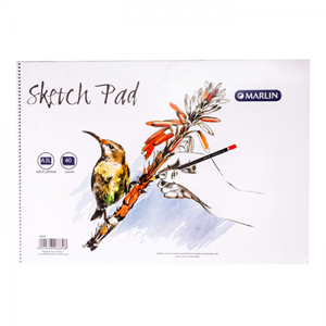 Picture of Marlin A3L Sketch Pad 40 Pages Side Spiral