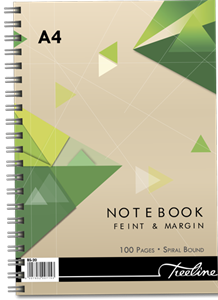 Picture of Treeline A4 100 page Spiral Note Book
