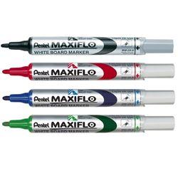 Picture of Pentel Maxiflo Pump-It Whiteboard Marker 4.0mm  Bullet Tip