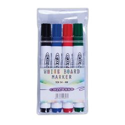 Picture of Collosso Whiteboard Markers Bullet Point Wallet of 4