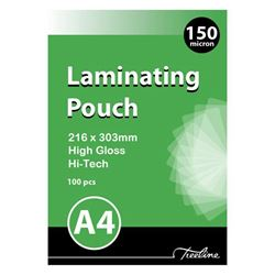 Picture of Treeline A4 Laminating Pouches 150 micron