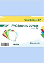 Picture of A4 PVC Clear Binding Covers (pack of 100)