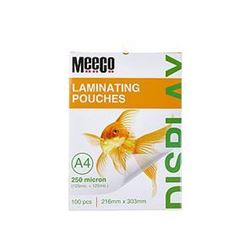 Picture of Meeco A4 Laminating Pouch 250 Micron