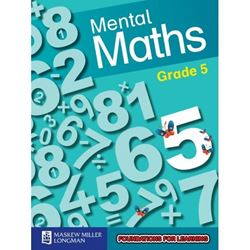 Picture of Blitz Mental Maths Grade 5 Learner's Book