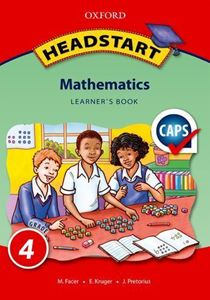 Picture of Oxford Headstart Mathematics Grade 4 Learner's Book