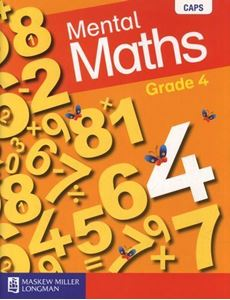 Picture of Blitz Mental Maths Grade 4 Learner's Book