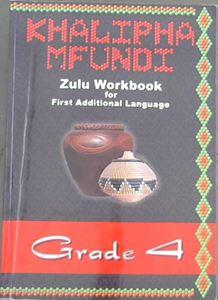 Picture of Khalipha Mfundi isiZulu Workbook Grade 4