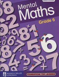 Picture of Blitz Mental Maths Grade 6 Workbook
