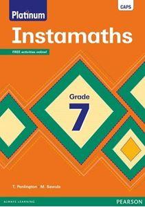 Picture of Platinum Instamaths Grade 7