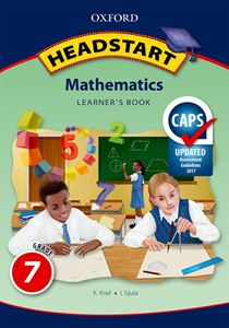 Picture of Oxford Headstart Mathematics Grade 7 LB