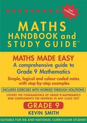 Picture of Maths Handbook & Study Guide - Grade 9