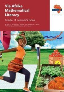 Picture of Via Afrika Mathematical Literacy Grade 11 Learner's Book