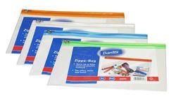 Picture of Bantex A5 PVC Zippa Bags with Orange Zip