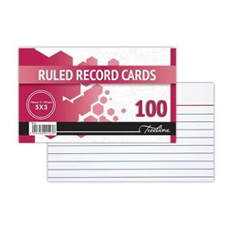 Picture of Treeline Ruled Record Cards