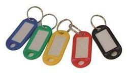 Picture of PVC Key Rings Pack of 20