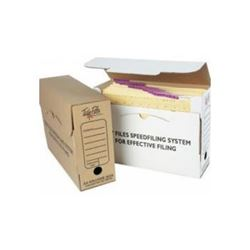 Picture of Tidy Files A4 Archive Box - Kraft