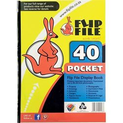 Picture of A4 Flip File 40 Pockets