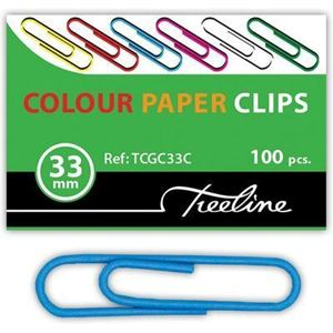 Picture of Gemclips PVC Coated Assorted 100's