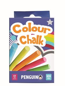 Picture of Penquin Chalk Assorted Colours Box of 12