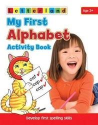 Picture of My First Alphabet Activity Book: Develop Early Spelling Skills