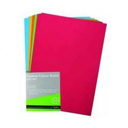 Picture of Treeline A4 Project Board 100 Sheets Bright Assorted