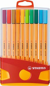Picture of Stabilo Point 88 Fineliner Assorted ColorParade 20's
