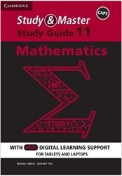 Picture of Study and Master Mathematics Grade 11 Caps Study Guide (Paperback, 2nd Revised edition)