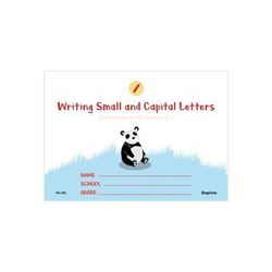 Picture of Writing Small and Capital Letters