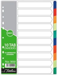 Picture of Treeline A4 PVC File Dividers