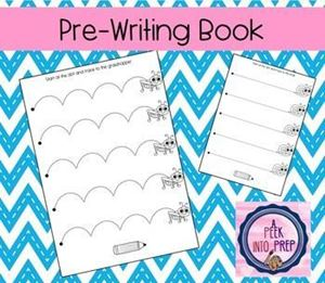 Picture of Easy-Ed Pre-writing Workbook A
