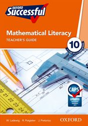 Picture of Oxford Successful Mathematical Literacy Grade 10 Teacher's Guide