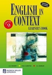Picture of English in Context Grade 9 Learner's Book