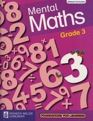 Picture of Mental Maths Grade 3 Workbook