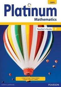 Picture of Platinum Mathematics Grade 7 Teacher's Guide