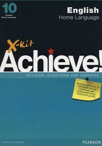 Picture of X-Kit Achieve! English Home Language Grade 10