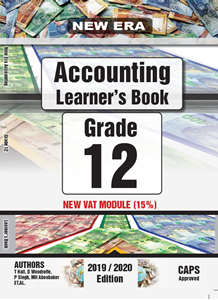 Picture of New Era Accounting Grade 12 Learner Book