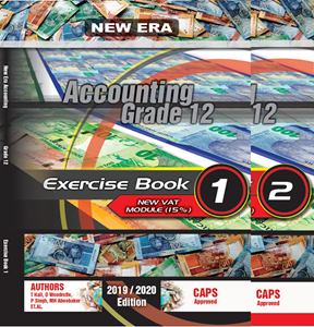 Picture of New Era Accounting Grade 12 Exercise Book