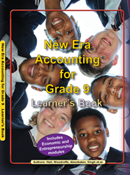 Picture of New Era Accounting Grade 9 Learner Book