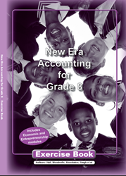 Picture of New Era Accounting Grade 8 Exercise Book