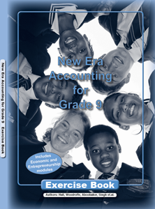 Picture of New Era Accounting Grade 9 Exercise Book