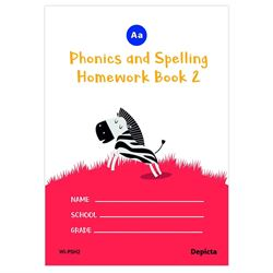 Picture of Phonics and Spelling Homework Book 2