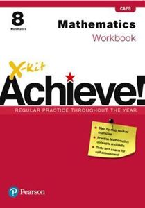 Picture of X-kit Achieve! Mathematics Workbook Grade 8