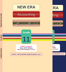 Picture of New Era Accounting Grade 11 Exercise Book