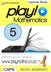 Picture of Play! Mathematics Grade 5 Learner Book